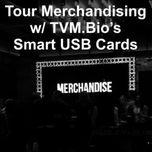 Tour Merchandise Smart USB Card™
